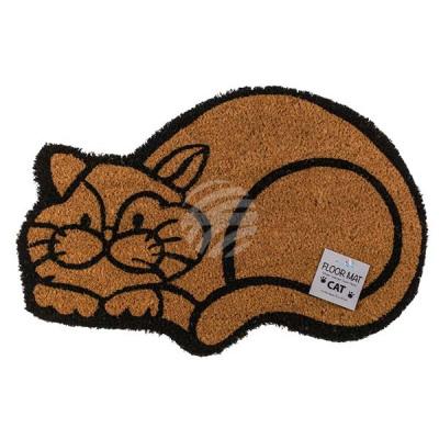 Wycieraczka, kot, ok. 60 x 40 cm, z kartą nagłówko