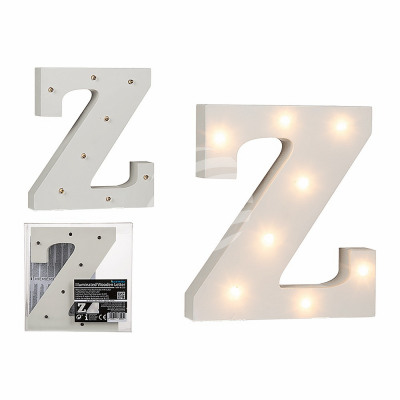 Lighted Wooden Letter Z With 8 Led About 16 C From Wholesale And