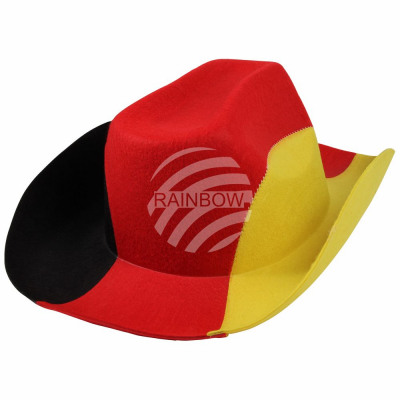 Cowboy Germany black, red, yellow