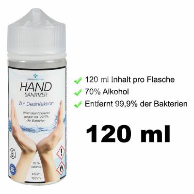 Disinfectant hand disinfectant 120ml