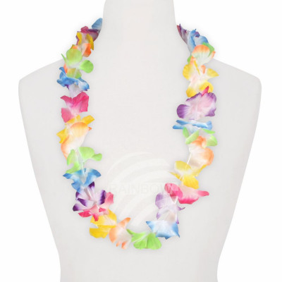 Hawaiian Flower Necklace multicolor