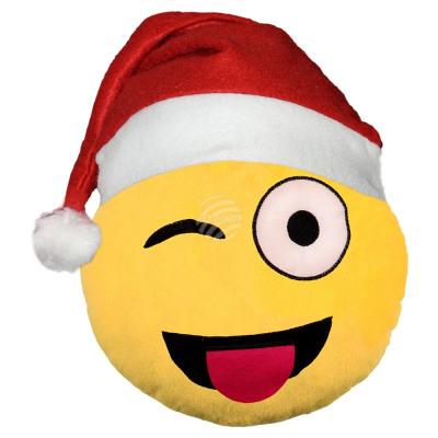 Chapeau De Pere Noel Emoticones Emoji Coussins Cli Du Grossiste Et Import