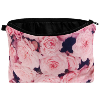 Cosmetic bag with motif