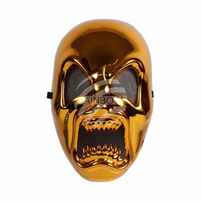 Carnival mask gold horror