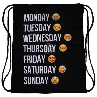 Rucksacktasche weekday Emoji Cons