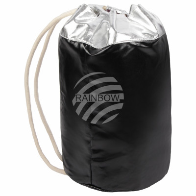 Backpack Backpack black silver glossy