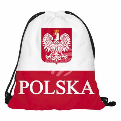 Gymbag, Gymsac Design: Poland Color: red, white