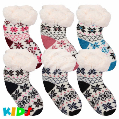Christmas socks hut socks for children