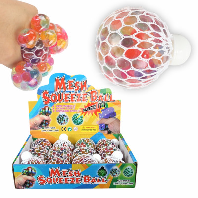 Squishy Mesh Squeeze Balls Bubbles Display