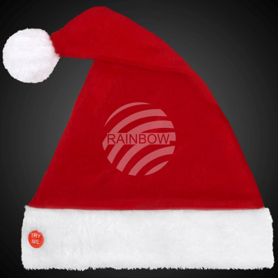 f5e1b177d2f51 Christmas hat with glowing bobble from wholesale and import