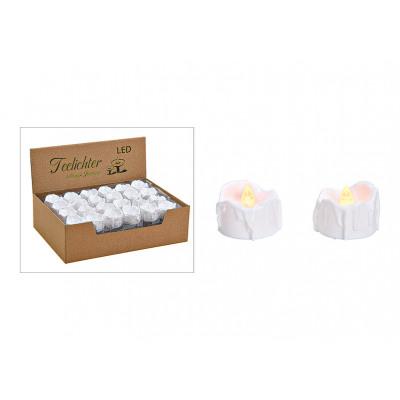 LED fénycső, villogó, világos műanyag fehér