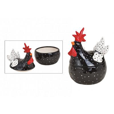 Rubinetto di latta in ceramica nera (L / H / P) 14