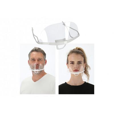 Visiera per bocca e naso, regolabile nelle dimensi