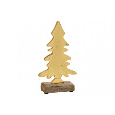 Espositore Albero di Natale in legno di mango / me
