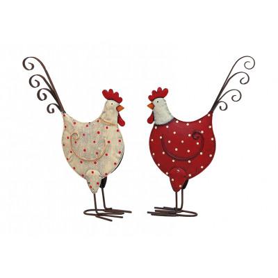 punti di pollo in metallo, assortito , B15 x H25 c