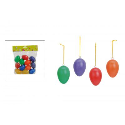 Set di 12 uova, colorate, da appendere da Kunstst