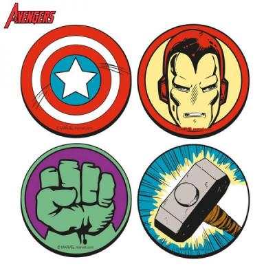 Posavasos Marvel Super Heroes - juego de 4