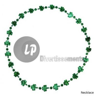 cd862091c8f5 Collar con tréboles de san patricio verde del comercio al por mayor ...