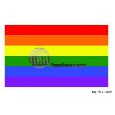Love Parade regenboogvlag 90x150cm hemel