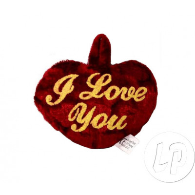 plush heart valentine i love you