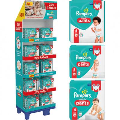 A Pampers Baby Dry Pants 26er vegyes kijelzője