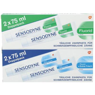 Sensodyne fogkrém 2x75ml vegyes doboz 18-ból
