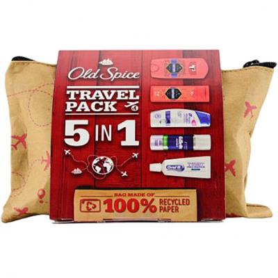 Old Spice utazókészlet 5 darabos + táska