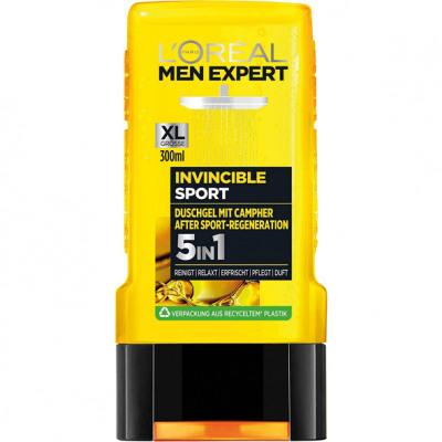 L'Oreal Men Expert tusoló 300ml Invincible