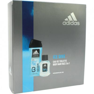 Adidas GP EdT 50ml + tusoló 250ml Ice Dive