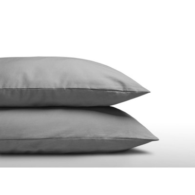 DHB pillowcases 2 in 1 Grey 60 x 70 Gray