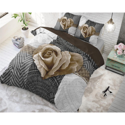 Garden Rose 2 Taupe 200 x 220 Taupe