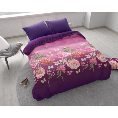 Bright Flowers Purple 200 x 200 Purple