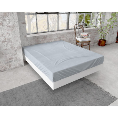 Fitted Sheet flannel 150g. Gray 140 x 200/210 Gray