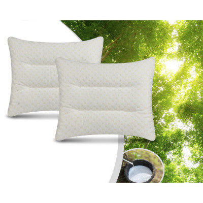 2Pack Latex Firm Pillow White 50 x 60 White
