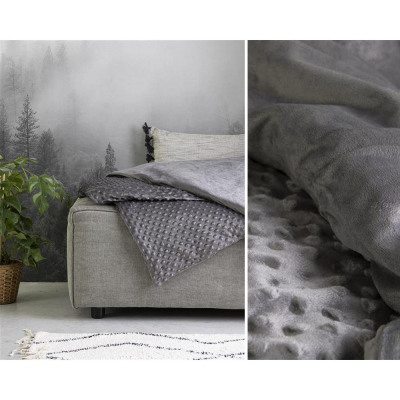 Weighted Blanket 7KG + Mink Cover 150 x 200 Antrac