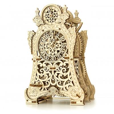 Wooden City Magic Clock - Wooden Model Building