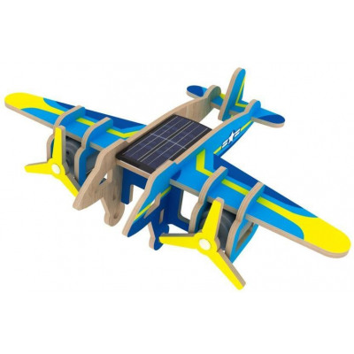 Robotime Solar Wooden Model Kit with paper coating