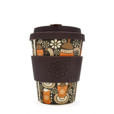 Ecoffee Cup Morning Coffee, Bamboo Cup, 350 ml,