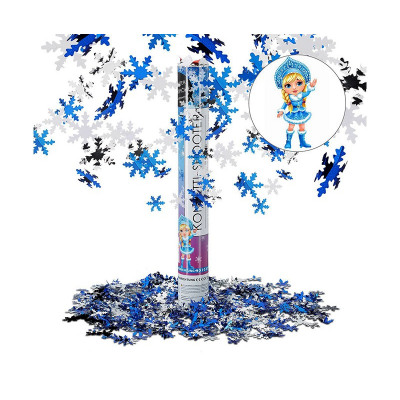 Party Popper Confetti cannon Winter 40cm