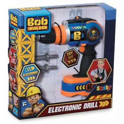 Smoby Bob the Builder Electronic Drill B / O