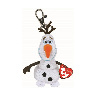 Disney frozen Plush Keychain Olaf with laughter