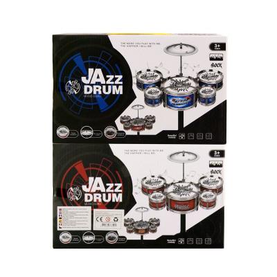 Drumset Jazz Drum (5 drums) 2 assorted 17,5x28cm