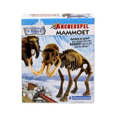 Clementoni Science & Games Archeospel Mammoet