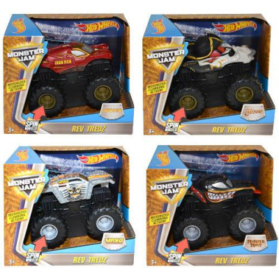 Hot Wheels Monster Jam Rev Tredz assorted