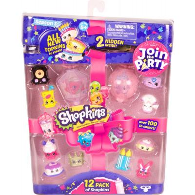 Shopkins Blister 12-pack