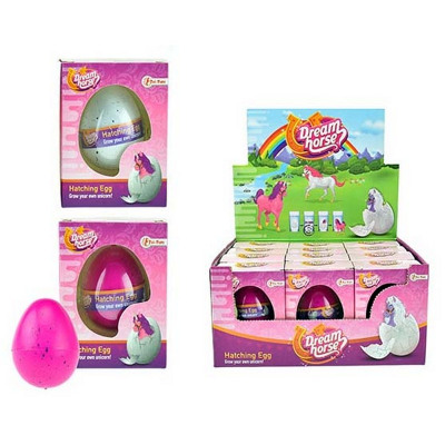 Breed your own unicorn toy from egg 3 assorted
