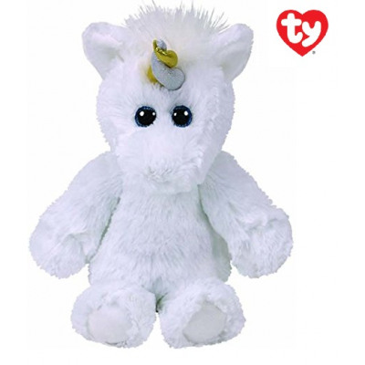 TY Plush Unicorn with Glitter eyes Agnus 33cm