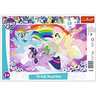 My Little Pony Window puzzle 15 pieces 23x33cm