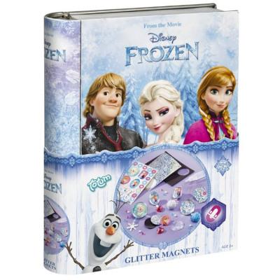 Disneyfrozen Gltter Magnete in Dose 15x19,5cm