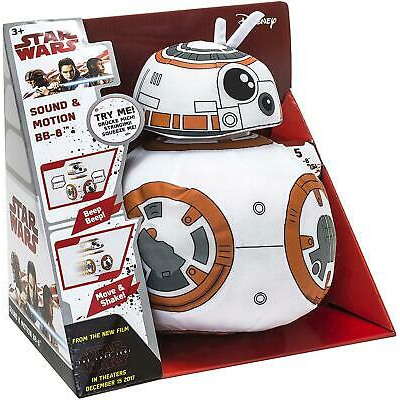 DisneyStar Wars Plush BB-8 moving and with 5 ver